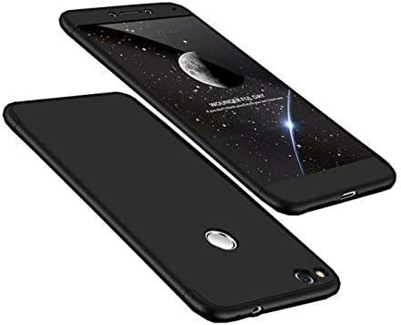Funda Huawei P8 Lite 2017(Honor 8 Lite) 360 Grados Negro Ultra ...