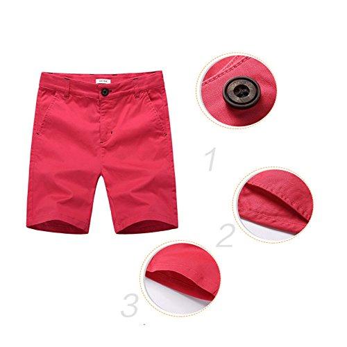 BASADINA Boys Shorts School Uniforms – Casual Cargo Shorts for Boys 6 Color 5-14 Years by BASADINA (Image #4)