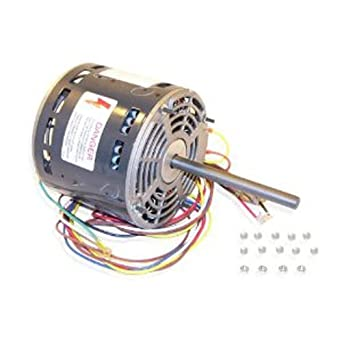 Rheem OEM Upgraded Replacement 3 Speed Furnace Blower Motor 51-23012-31