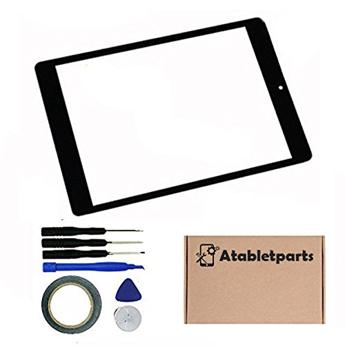 Atabletparts Black Digitizer Touch Screen for Dragon Touch M8 8 Inch Tablet