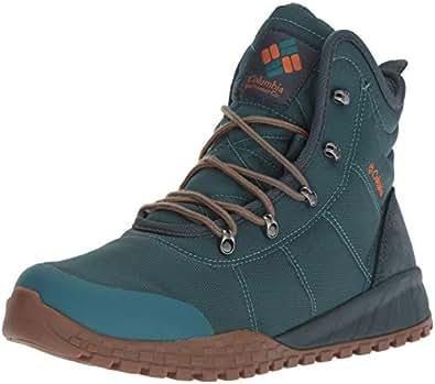 Columbia Men's Fairbanks Omni-Heat Ankle Boot, Deep Wave, Bright Copper, 9.5 Regular US