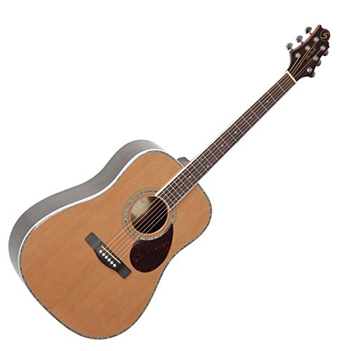 Samick Greg Bennett Design OM8 Acoustic Guitar, Natural
