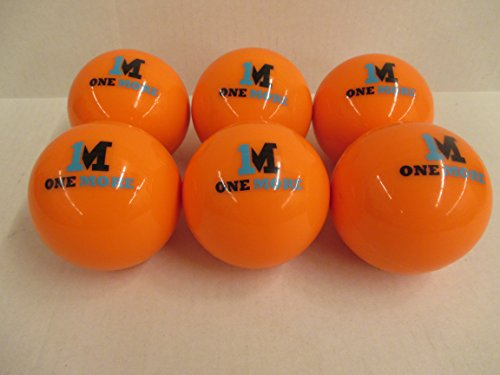 1M or One More 6 pack of 1M Weighted Heavy Training Baseballs Softballs Hitting Batting by 1M or One More