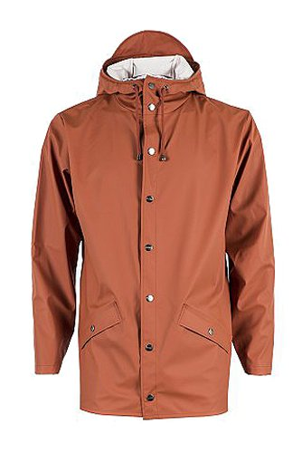 Rains Jacket Rust Impermeable para Hombre Rojo FRWFHqTr