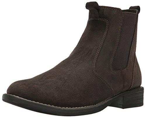 Eastland Men's Daily Double Chelsea Boot, Chocolate, 10.5 M (Chocolate Distressed Footwear)
