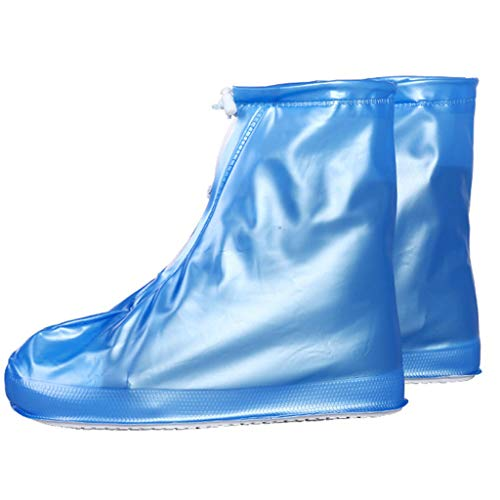 Shoe Covers, Rain Boots Shoe Cases, Waterproof Overshoes Slip Resistant, Men Women Kids Rainy Gear Outdoor Cycling Travel