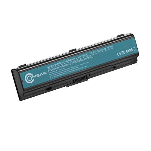Replacement 1brs Notebook Battery - OMBAR PA3534u-1brs Laptop Replacement Battery for Toshiba Pa3534u-1brs Pa3533u-1brs Pa3535-1bas Toshiba Satellite A200 A205 A210 A215 A300 A305 A350 A355 A500 A505 L200 L201 L202 L203 L205.