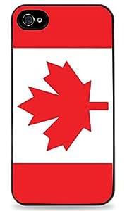 Canadian Flag iPhone 5C Black Hardshell Case