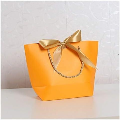 Ganjuan Bolsa de Regalo Caja de Regalo Grande (Color : J Orange ...