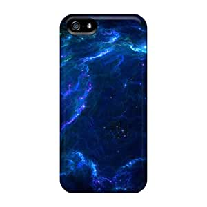 New Arrival Premium 5/5s Cases Covers For Iphone (wood Full Space Stars Blue Nebulae Lazarus)