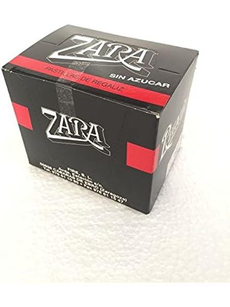 ZARA - 12 CAJITAS - SIN AZUCAR - REGALIZ: Amazon.es: Alimentación y bebidas