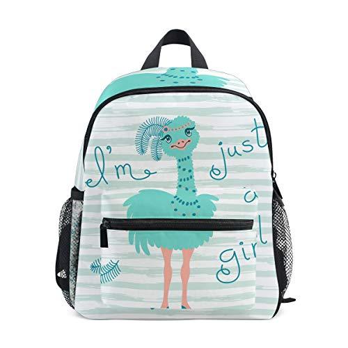 Yokii Fashionable ostrich chick design Kids Backpack Pre-School Bag for Kindergarten Toddler Boy ()
