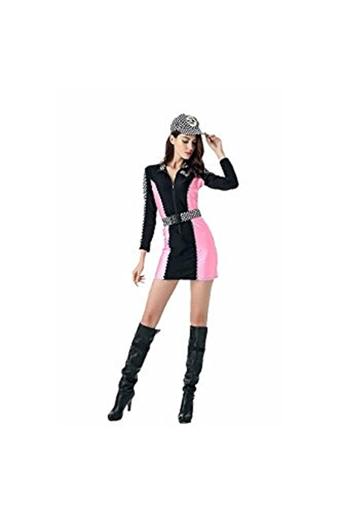 Buy Cheap High Quality Racing Driver Auto Salon Girls Costume Sexy Shorts Design Uniform Car Club Wear Suit Stage Party Racing Jumpsuit Women's Costumes Costumes & Accessories