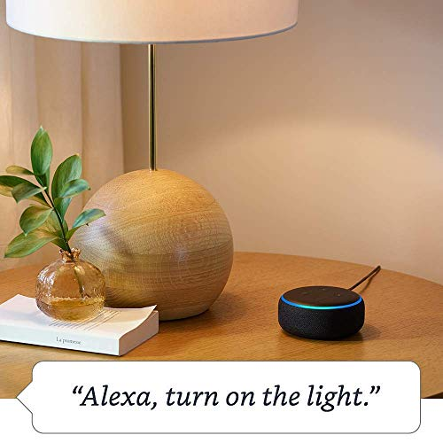 Echo Dot (3rd Generation) - Heather Gray with 2 Smart Bulb Kit by Sengled