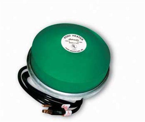 Farm Innovators Model P-418 Premium Cast Aluminum Floating Pond De-Icer, 1,250-Watt