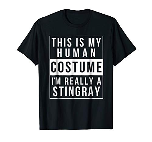 Stingray Halloween Costume Shirt Funny Easy for kids adults