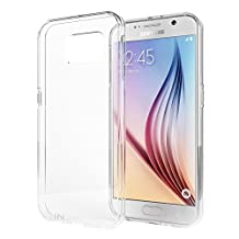 """Samsung Galaxy S6 Case - Inskin [Crystalline] Scratch Resistant Clear Hybrid Case for Samsung® Galaxy® S6 [NOT for S6 Edge 5.1"""" or S6 Edge Plus 5.7""""]."""