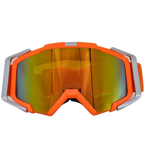 Snow Réfléchissant Mountaineering TZQ Femmes Hommes Double B Ski Mountaineering Windproof Antifog Mirror Wq11IznAZ