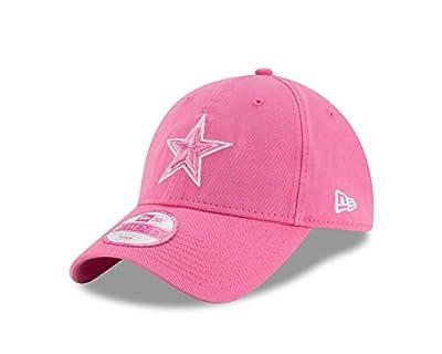 Women's Dallas Cowboys New Era 9Twenty Preferred Pick Pink Adjustable Hat / Cap