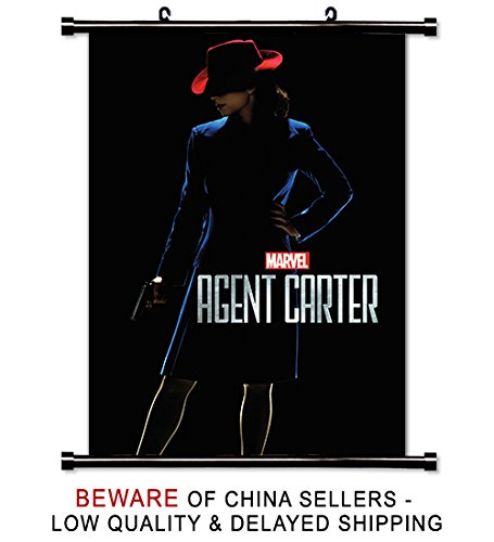 Marvel's Agent Carter TV Show Fabric Wall Scroll Poster (32x45) inches