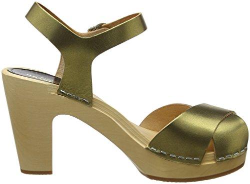 Oro Hasbeens Zoccoli Merci Gold Donna Swedish Gold wRg7qzwZ