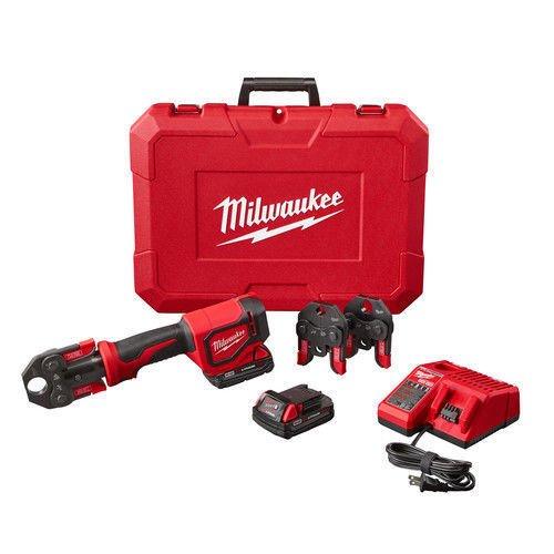 Milwaukee 2674-22C Short Throw Press Tool Kit w/ PEX Crimp Jaws ()