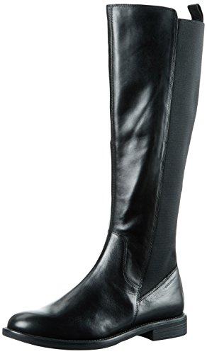 20 Vagabond Cavalieres nero Boots Woman Amina Schwarz qSwxSr6EX