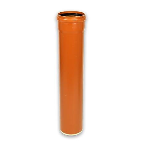 Kanalrohr KG Rohr DN 200 Baul/änge 1000mm