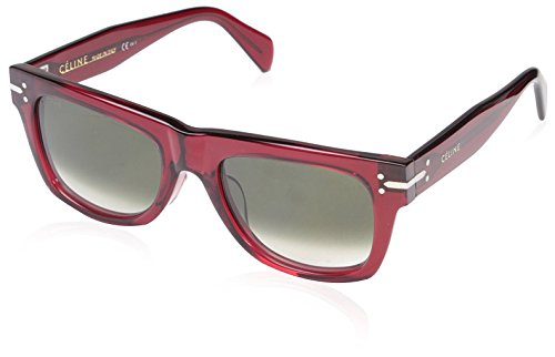 Céline Women's CL41046 Sunglasses, Transparent - Sunglasses Red Celine