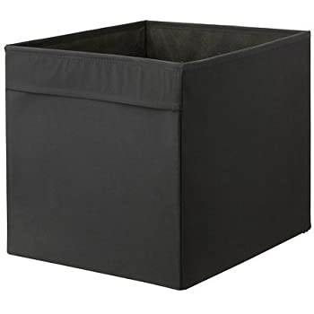 Charmant Ikea Foldable Storage Box, Black
