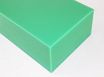 Fantastisch Kunststoff Klotz Vierkant Polyethylen PE 420 x 40 x 30 mm HD grün  MA27