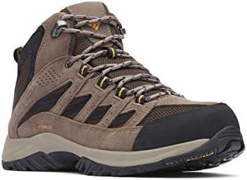 ef39cf0adc7 Columbia Men's Crestwood Mid Waterproof Hiking Boot, Cordovan ...