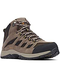 Men's Crestwood Mid Waterproof Hiking Boot, Breathable, High-Traction Grip