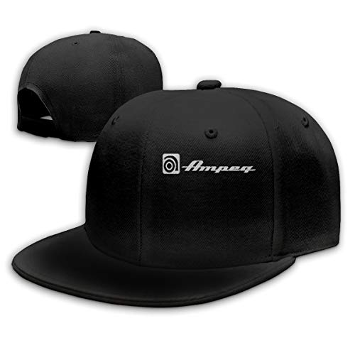 MIZS VIEASEG Ampeg Amp Fashion Vintage Baseball Cap Funny Cool Sports Hat Black