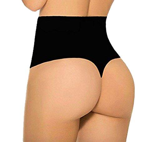 209ae7122c34b Evenriver Women Waist Tummy Shapewear Butt Lift Control Panty Thong Body  Shaper