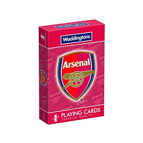 Arsenal FC Playing Cards (One Size) (Red)