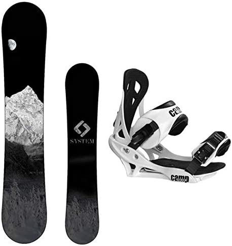 System 2020 MTN Snowboard with Summit Bindings Men s Snowboard Package