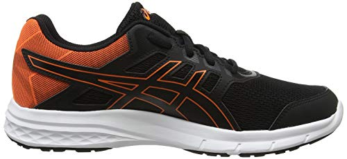 Uomo 5 Scarpe Asics Orange Gel Nero Da excite Running shocking black 001 wqwgxH