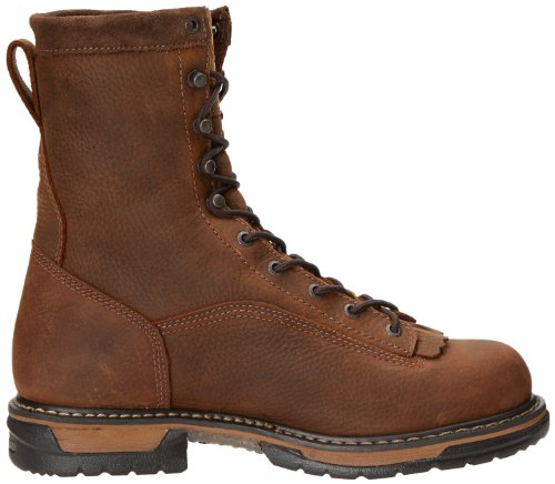 Clad Rocky Inch Iron Work Eight Boot Men's Brown LTT AA4Tqf