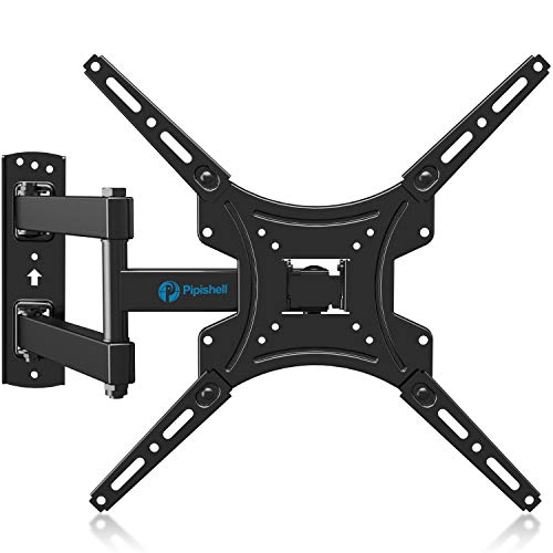 Full Motion TV Wall Mount Bracket Articulating Arms Swivels Tilts Extension Rotation for Most 13-55 Inch LED LCD Flat…