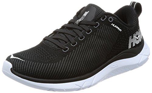 Hoka One Homens Donna Running Sneaker Nero / Ombra Scura