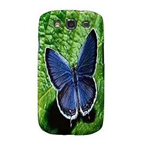 NEW Butterfly Flowers CUSTOM Rigid Cover Case Skin GALAXY GS3 S3 SIII NEW
