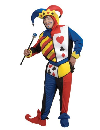 Playing Card Joker Costume - Standard - Chest Size 46 (Playing Card Joker Costume)