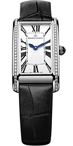 Maurice Lacroix Fiaba Ladies Rectangular Quartz watch, Silver,FA2164-SD531-118-1