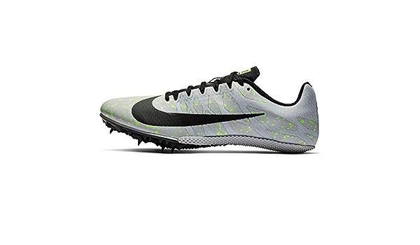 Oriental Pantera insuficiente  Nike Zoom Rival S 9, Zapatillas de Atletismo Unisex Adulto, Multicolor  (Pure Platinum/Black/Volt Glow 077), 48.5 EU: Amazon.es: Zapatos y  complementos