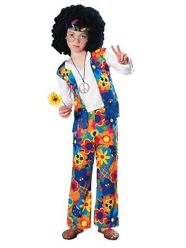 [Hippie Boy Kids Costume] (60s Costume)