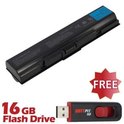 Battpit Recambio de Bateria para Ordenador Portátil Toshiba Satellite Pro L300D-SP5808R (6600 mah) Con memoria USB de 16GB GRATUITA: Amazon.es: Electrónica
