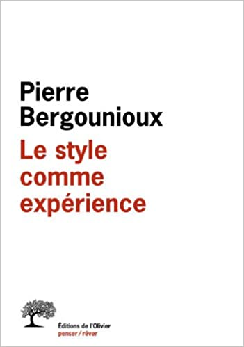 Télécharger en ligne Le style comme expérience pdf, epub
