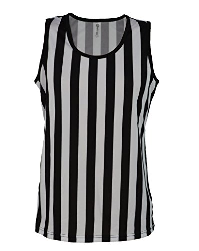 [Referee Tank Top for Women | Referee Uniform Top for Waitresses, Costumes, More!] (Referee Shirts Costume)
