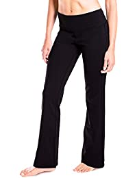 "29""/31""/33""/35""/37"" inseam Petite/Regular/Tall Length, Women's Bootcut Yoga Pants Long Bootleg Flare Pants"